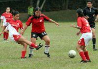 Fútboll femenino.