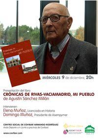 Crónicas de Rivas-Vaciamadrid, mi pueblo. Cartel.