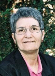 Juana Balas, concejala de IU de Velilla de San Antonio.