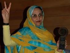 Aminetu Haidar.