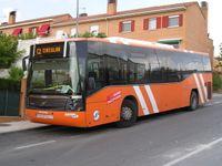 Autobús de línea interna de Rivas-Vaciamadrid.