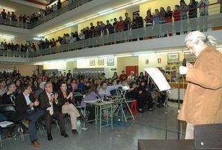 El IES Lázaro Carreter rindió homenaje a Julio Pérez.
