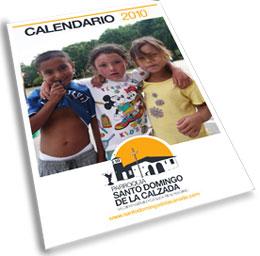 Calendario 2010 de la parroquia de Santo Domingo.