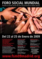 Cartel del FSM 2009.